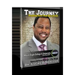 Dr. Lucas D. Shallua DVD-the journery